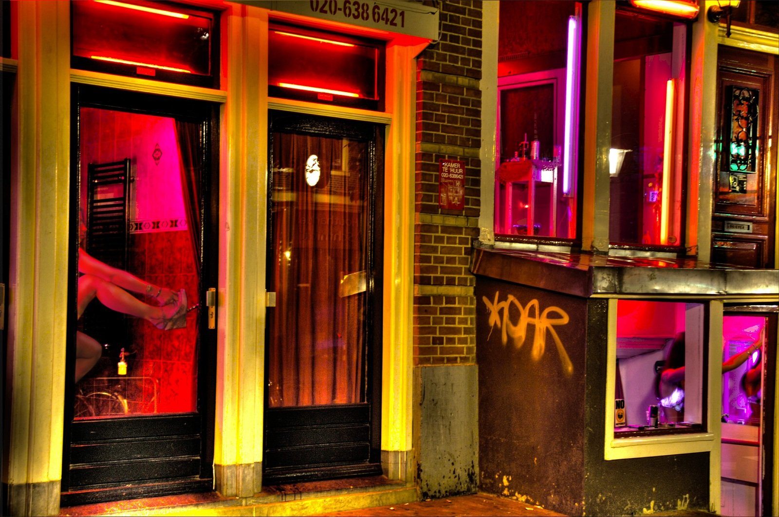 Amsterdam red light district qampa from my weekend trip 5