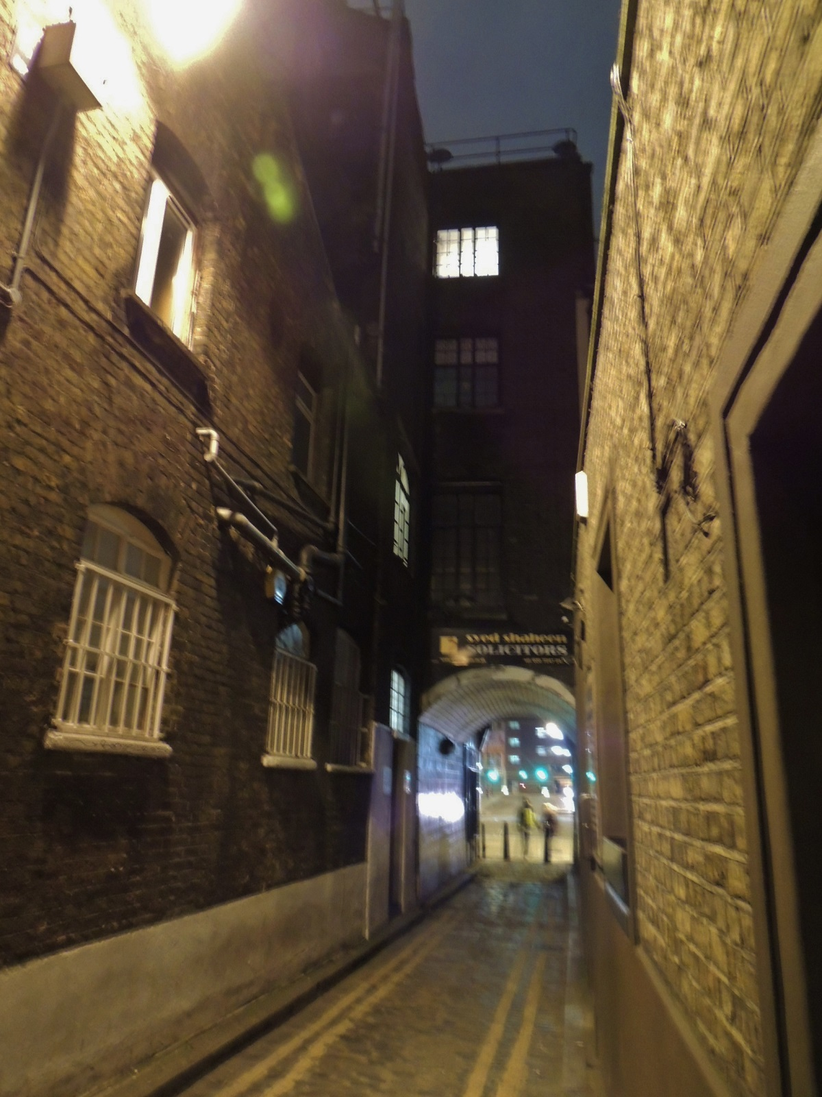 Mystery Holiday, Jack the Ripper Tour, London, Street from the tour