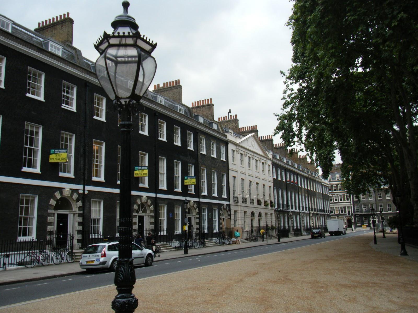 London Architecture United Kingdom Bedford Square Georgian ...