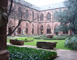 Mainz Cathedral, Germany, Courtyard